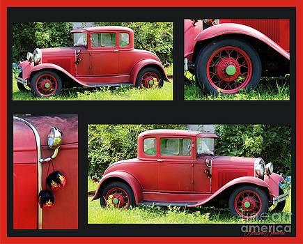 Red Car by Lorraine Louwerse