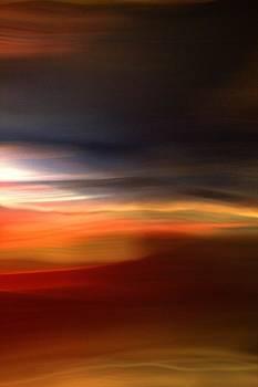 Red Desert Sunset by Terence Morrissey
