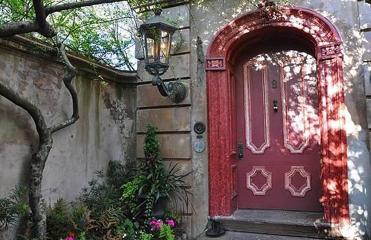 Red Door Charleston by Lori Kesten