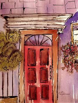 Red Door by Constance Larimer