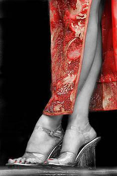 Red Dress in plastic by J R Baldini M Photog Cr