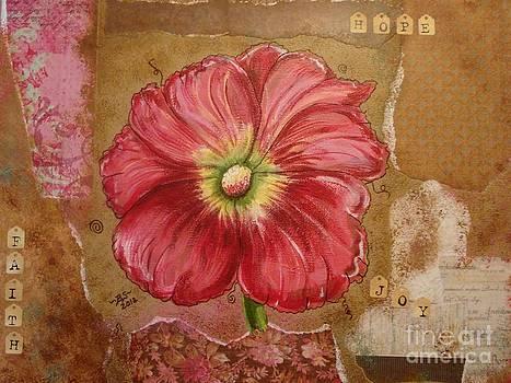 Red Flower by Bonnie Schallermeir