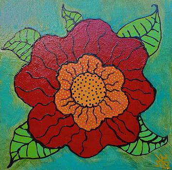 ReD FloweR by Teresa Grace Mock
