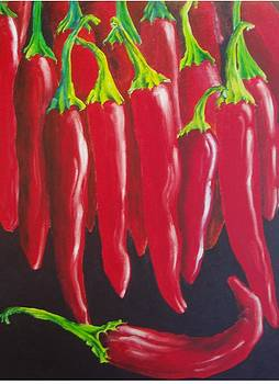 Red Hot Chillie Peppers by Carol McLagan