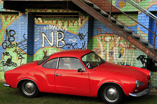 Noel Elliot - Red Karmann Ghia