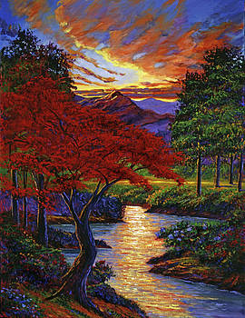 David Lloyd Glover - Red Maple
