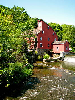 Red Mill in Summer by Sheila Rodgers