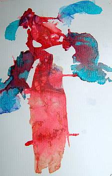 Red Palm Tree by Tonya Mower Zitman