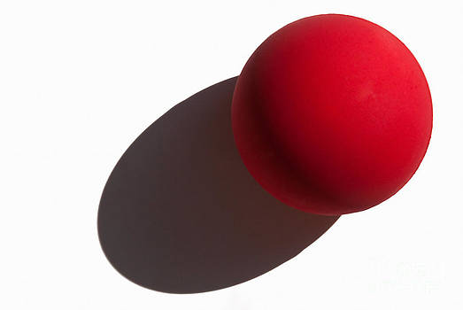 Red Rubber Ball by Dan Holm