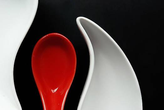 Red Spoon by Alexandra-Flaminia Boc