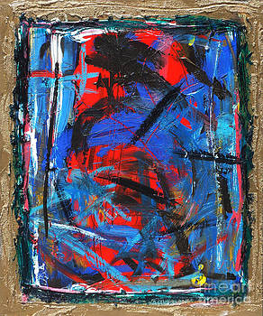 Red v Blue by David Abse