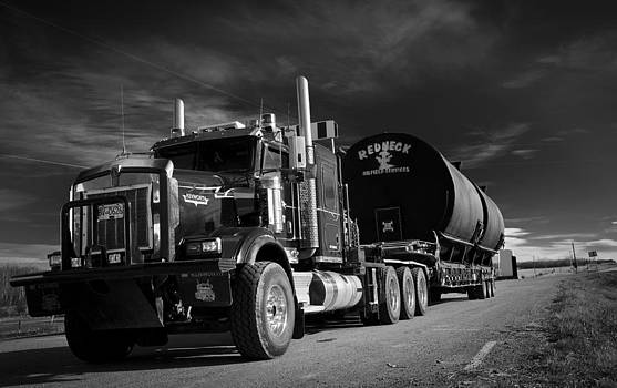 Redneck Oilfield Rig by Steve  Milner