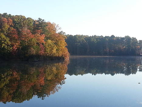 Reflecting on Autumn by Jeannette Brown