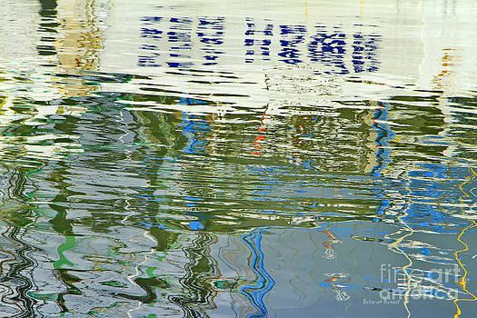 Deborah Benoit - Reflective Water Abstract