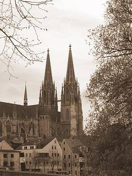Regensburg Dom by Andrea Linquanti
