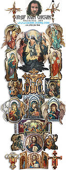 Religious art overview and Contact by Iosif Ioan Chezan