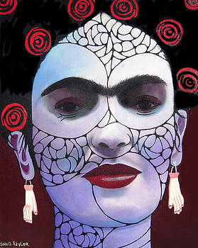 Rendition of Frida by Anna Cole Taylor