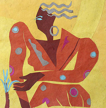 Resting Dancer 2 by Shoshanah Dubiner