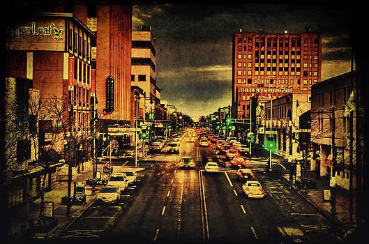 Retro College Avenue by Joel Witmeyer