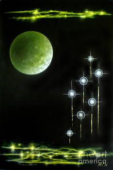 Retro Space by Michelle Cavanaugh-Wilson