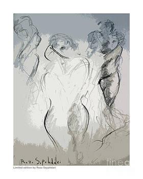 Reverie of the dance by Reza Sepahdari