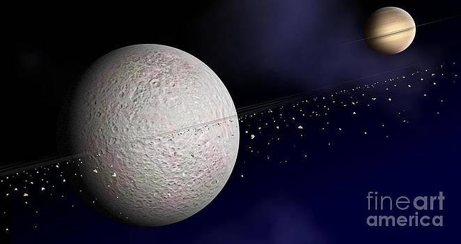 NASA / JPL / Johns Hopkins University Applied Physics Laboratory - Rheas Rings