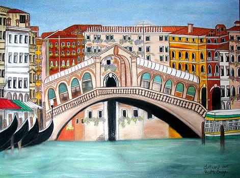 Rialto Bridge by Norma Tolliver