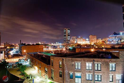 Richmond Va City Lights by Andre Boykin