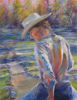 Riding The Trail by Bonnie Goedecke
