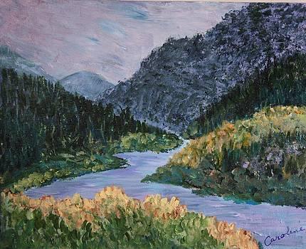Rio Grande by Carolene Of Taos