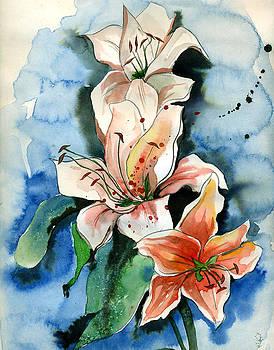 Rising Flower by Seema Sinha