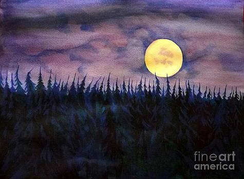 Anna  Duyunova - Rising Moon Of Alaska