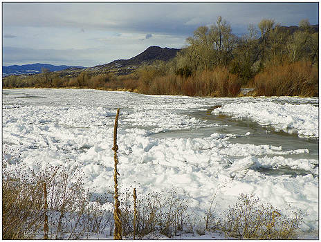 River Ice by Vicky Mowrer