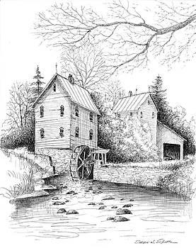 River Mill by Steven W Schultz