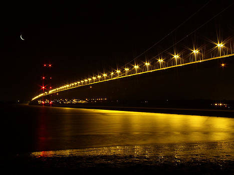 River of Gold- Humber Bridge by Sarah Couzens