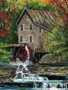 Riverside Mill by Steven W Schultz