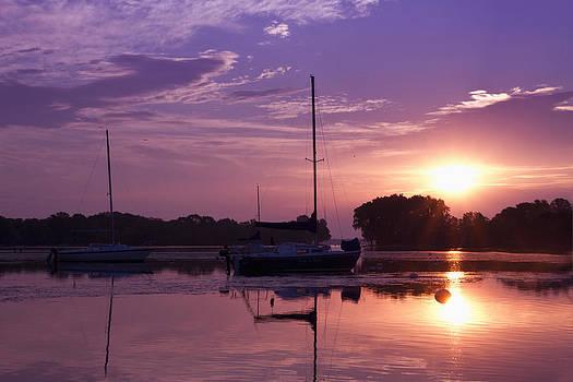 Riverside Park Sunrise by Joel Witmeyer
