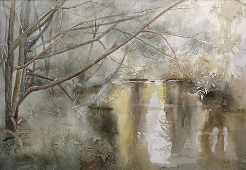 Riversides of Bittsa. Summer Time. 2007 by Yuri Yudaev