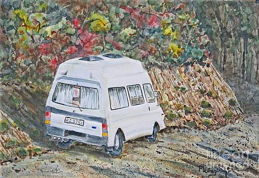 Roadside Van by Phong Trinh