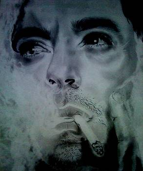 Robert Downey Jr. by Elle Ryanoff