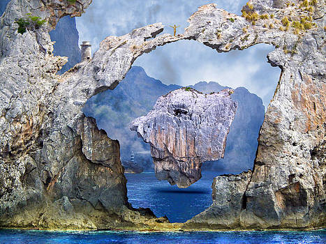 Rock Face by Johnny Trippick
