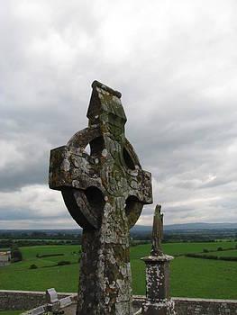 Rock of Cashel Cross by Sheila Rodgers