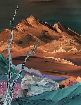Rocks at Night by Ginger Lovellette