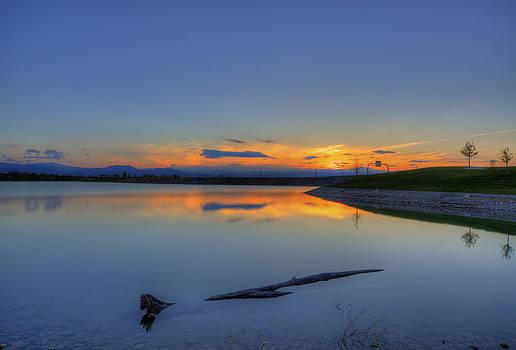 Rocky Mountain Sunset - HDR by Jonathan Bartlett