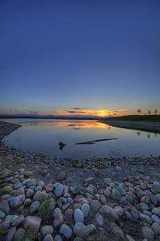 Rocky Mountain Sunset - The Blues by Jonathan Bartlett