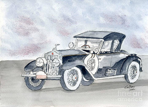 Rolls Royce 1923 by Eva Ason