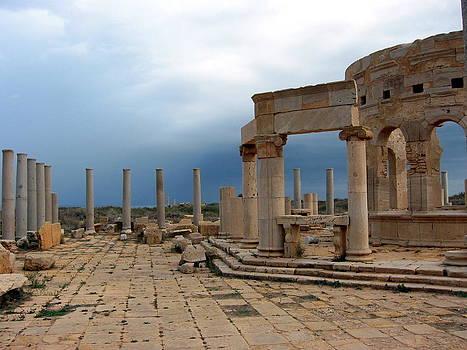 Roman Market, Leptis Magna, Libya by Joe & Clair Carnegie / Libyan Soup