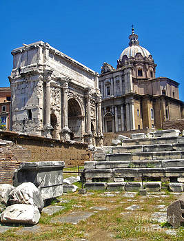 Gregory Dyer - Roman Ruins - Roman Forum