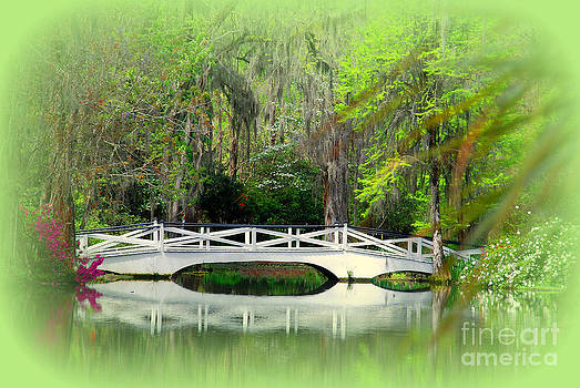 Susanne Van Hulst - Romantic Bridge in Magnolia Gardens SC