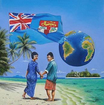 Romantic Fiji by Pravin  Sen